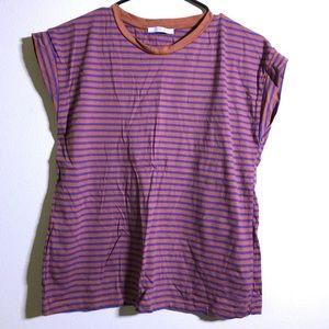 [Zara] Striped T-Shirt